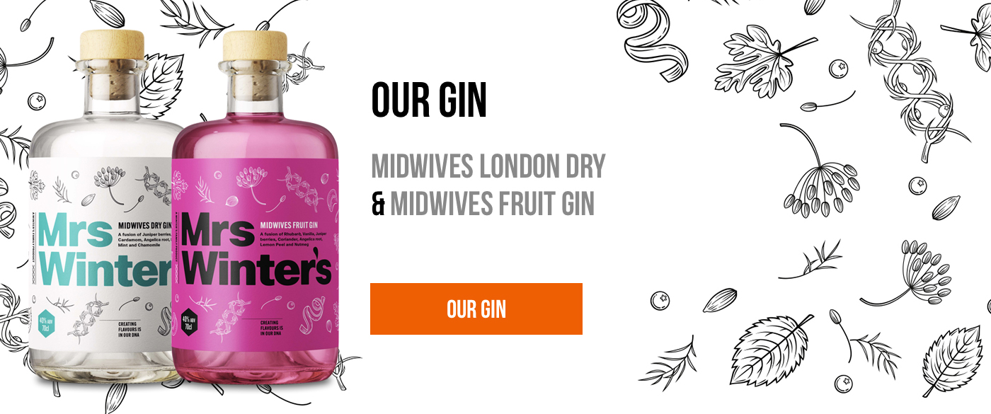 Midwives London Dry Gin & Midwives Fruit Gin